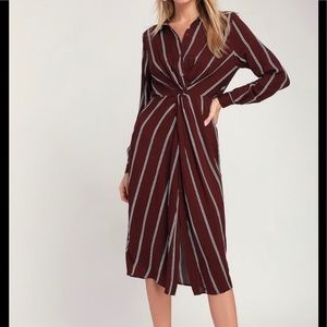 NEW Striped Dress
